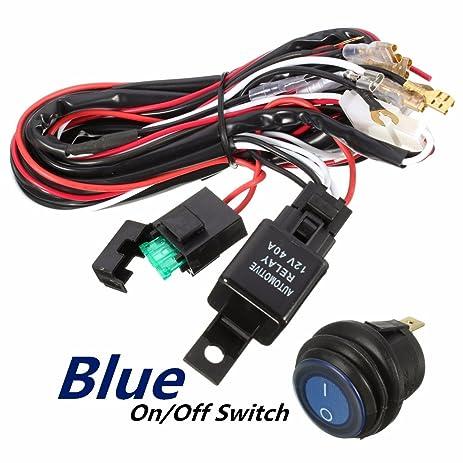 amazon com wiring harness,audew heavy duty wiring harness kit for Carburetor Wiring Harness accessory relay wiring harness