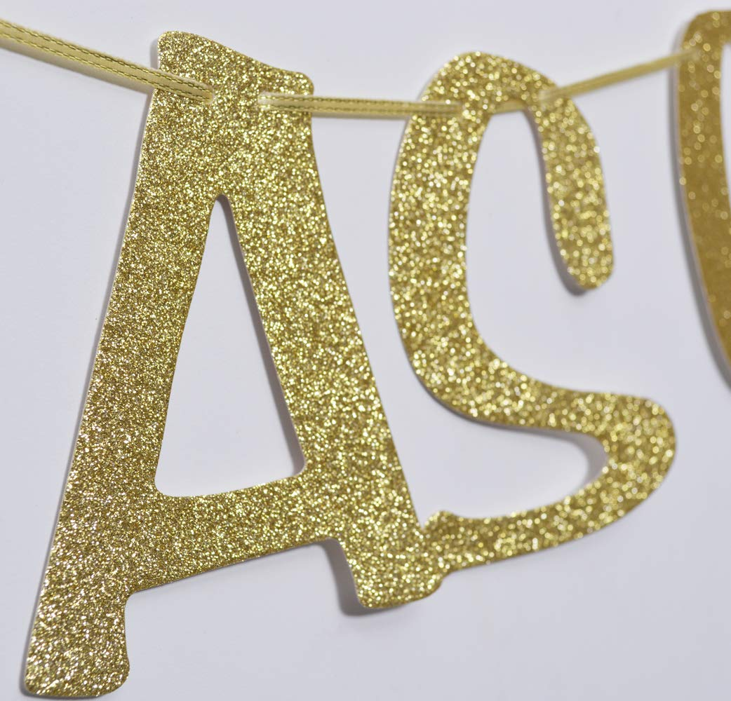 Sweet As Can Bee Banner Honey Sign Gold Glitter Decorations for Baby Shower 1st Birthday Party Baby Boy Girl Backdrop Decor Photo Booth Props