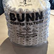 Amazon Com Bunn 6001 12 Cup Commercial Coffee Filters
