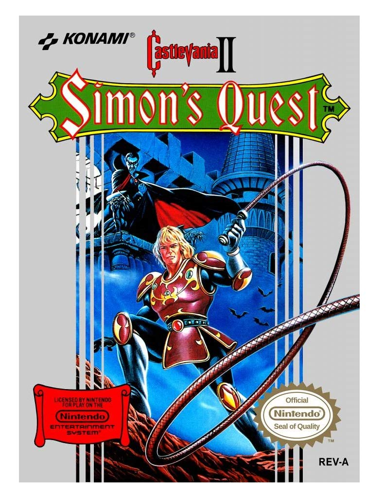 Amazon.com: Castlevania II: Simons Quest: Video Games