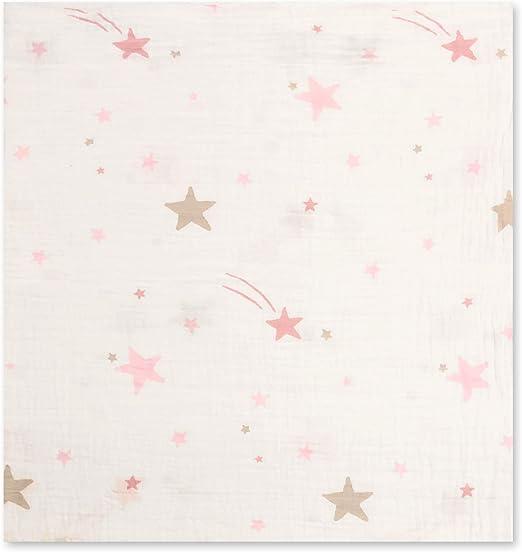 Bronze Stars New Muslin Swaddle Blanket