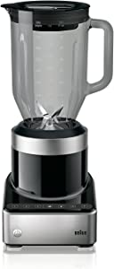 Braun JB7350 BKS Premix Power Countertop Blender, 56 fl. oz, Black