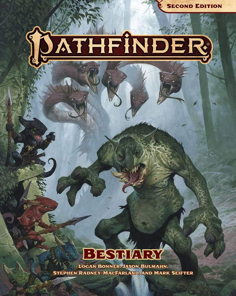 Pathfinder Bestiary (P2) by PAIZO PUBLISHING