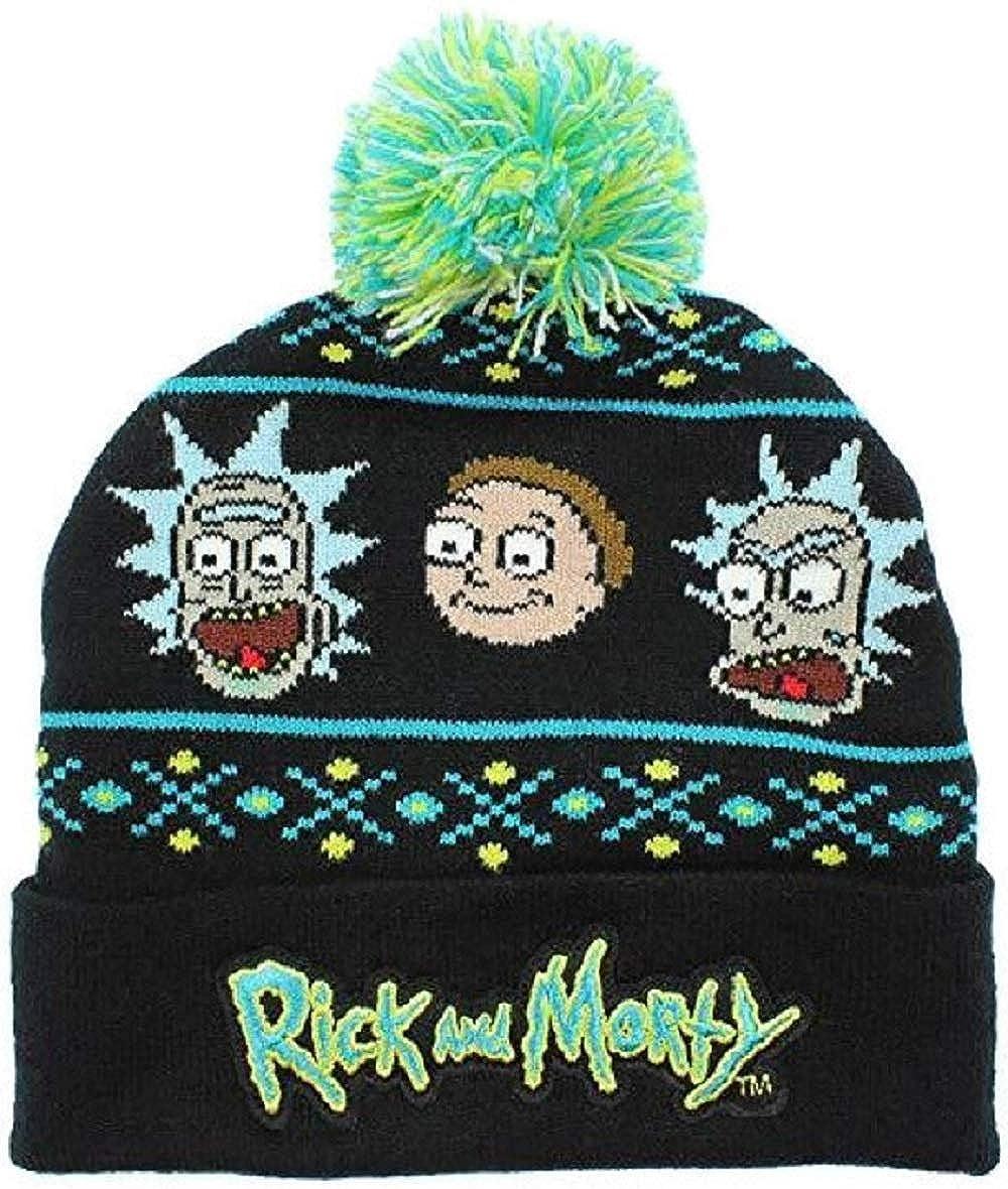 Fashion Rick /& Morty Beanie