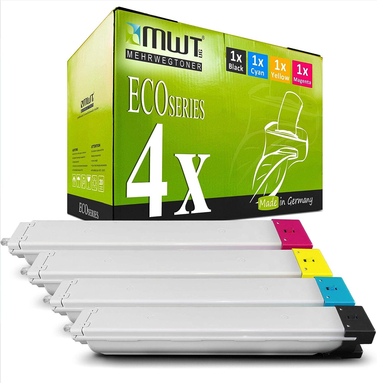 4x Mwt Druckerpatronen Für Samsung C9201n C9301 Clx9301 Clx9301n Clx9201na C9251 C9201 Clx9251n Clx9301na C9301na C9201na Ersetzt Clt 809 Clt809 Set Bürobedarf Schreibwaren