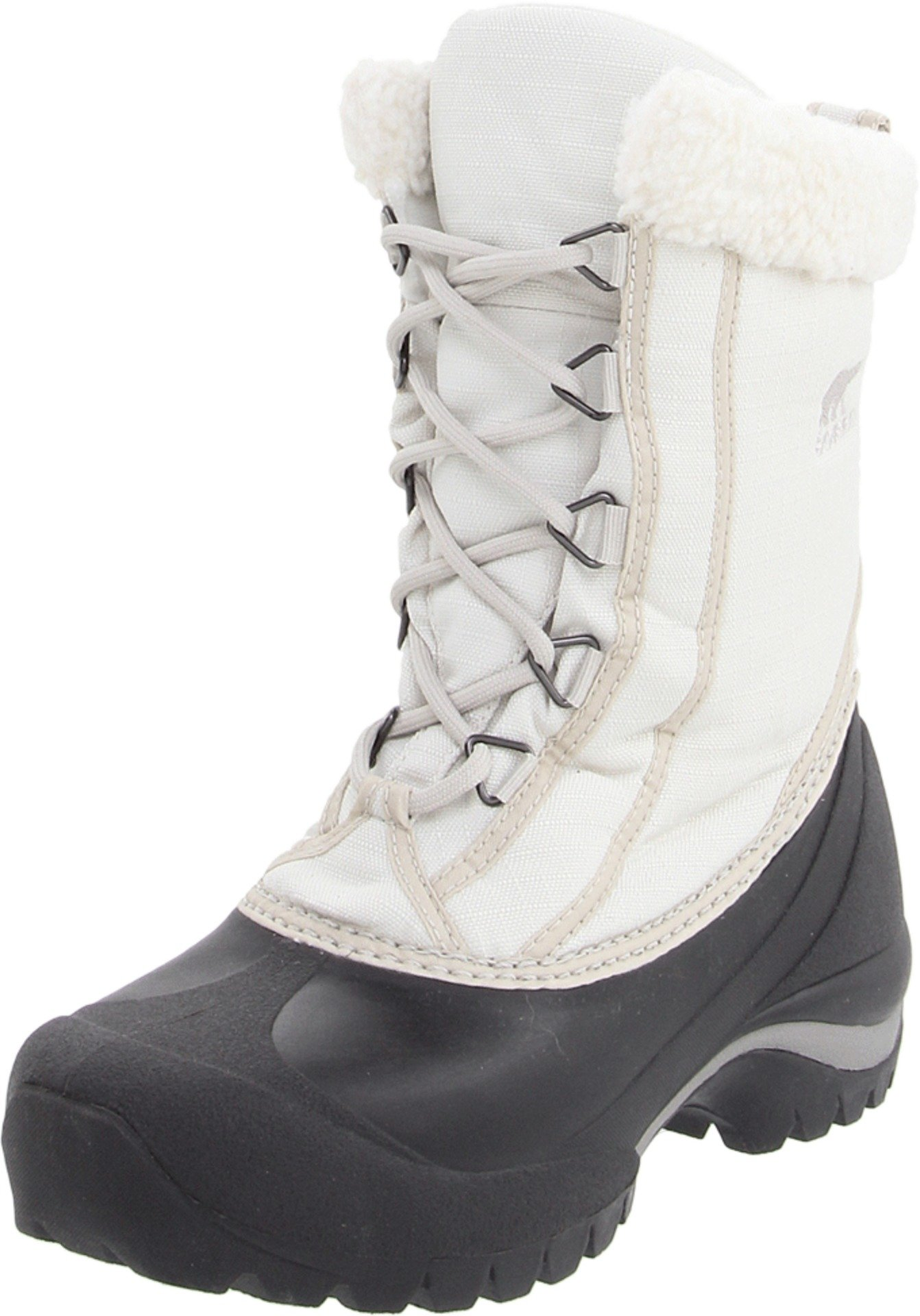 Sorel Women's Cumberland NL1436 Boot, Turtle Dove/Silver Lining, 8.5 M US