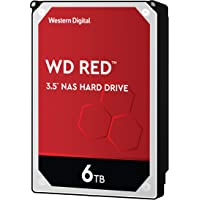 Western Digital Red 3.5 Zoll 6000 GB Serial ATA III - Interne Festplatten (3.5 Zoll, 6000 GB, 5400 RPM)