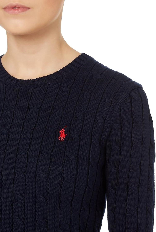 Ralph Lauren/ /Maglia girocollo a maglia jumper vari colori