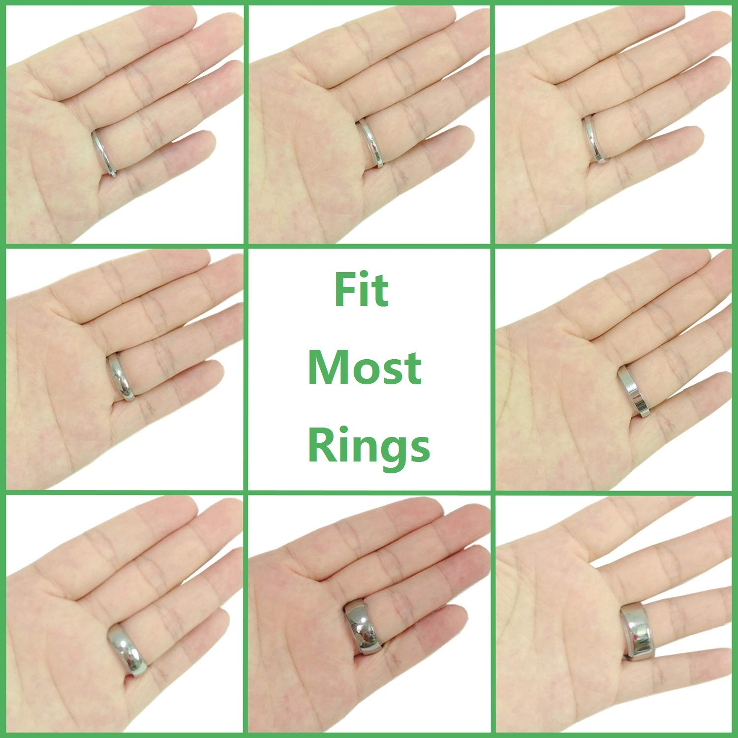 Ring Size Adjuster for Loose Rings for Any Rings Ring Size Reducer Spacer Ring