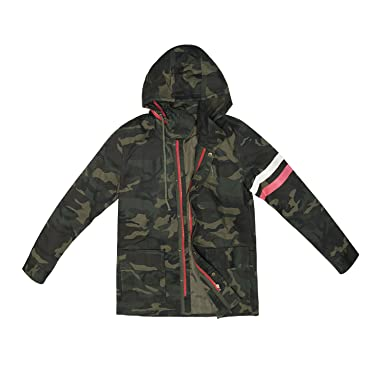 sukutu para mujer Fashion camuflaje abrigos Outwear Militar ...
