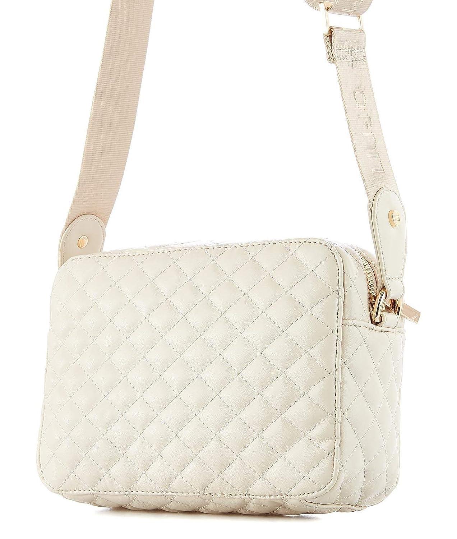 Liu Jo Womens A19079E000221404 White Leather Shoulder Bag