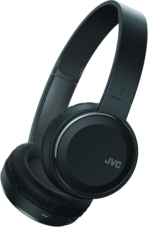 Amazon Com Jvc Wireless Lightweight Flat Foldable On Ear Bluetooth Wireless Headband With Mic Black Has190btb Electronics