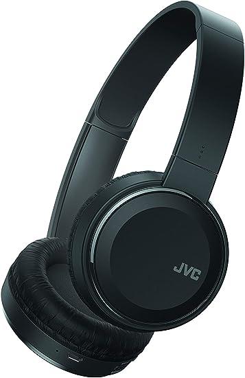 JVC Universal Bluetooth Wireless Over-Ear Headset Stereo Headphones Foldable