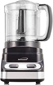 Brentwood FP-547 Mini Food Processor, 3-Cup, Black