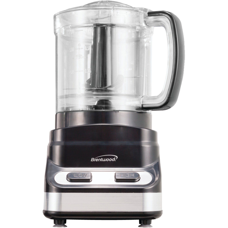 Brentwood FP-547 Appliances 3 Cup Food Processor, Black