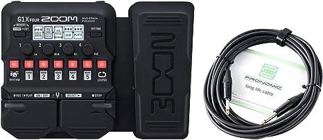 Zoom G1X FOUR - Juego de cables para pedal de efectos (pedal ...