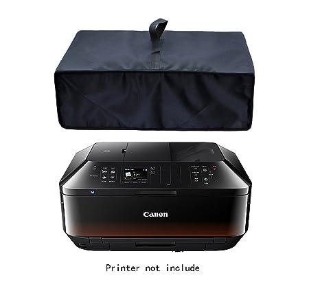Kammty Negro Antiestático Funda de Tela de Impresora de Nailon Resistente al Agua a Prueba de Protector para Canon Pixma MX925/PIXMA MX535/PIXMA ...