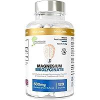 Magnesium bisglycinaat   1000 mg dosis / 500 mg capsules   120 capsules / 60 doseringen (2 maanden)   Hoogste…