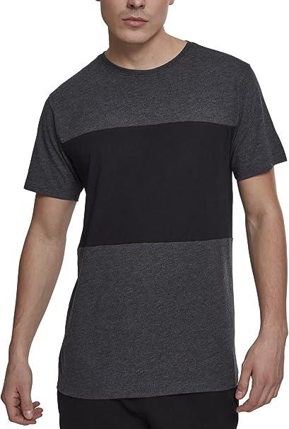 Urban Classics Contrast Panel tee, Camiseta para Hombre