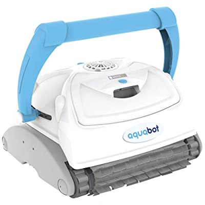 Aquabot Breeze IQ Wall-Climbing Automatic In-Ground Robotic Brush Pool Cleaner : Garden & Outdoor