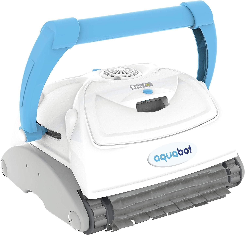 Aquabot ABREIQ Breeze IQ Wall-Climbing Automatic In-Ground Robotic Brush Pool, White