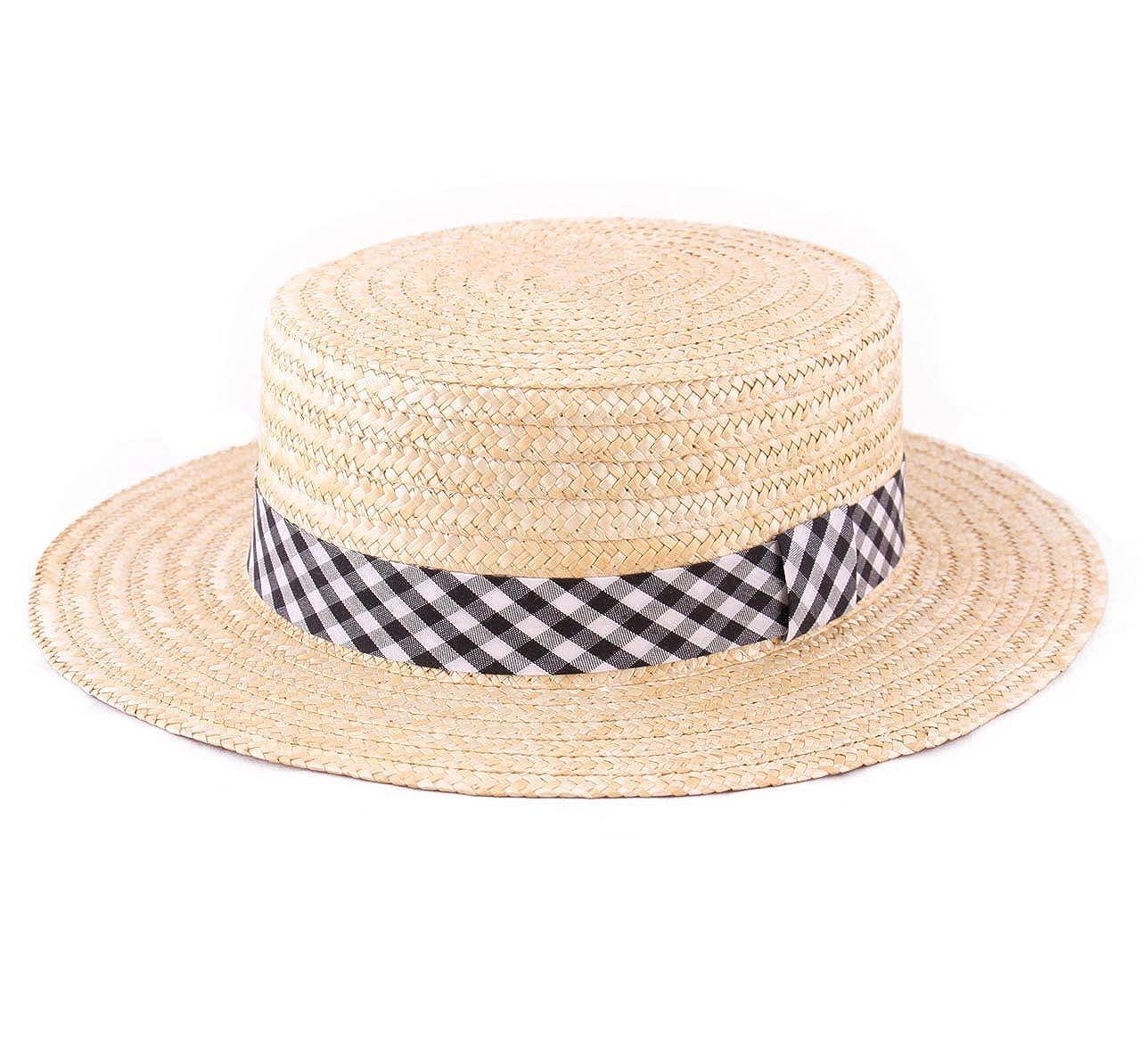 - Marky Le Le Le Bouchon Boater Hat Size 50 cm Black 1515dd