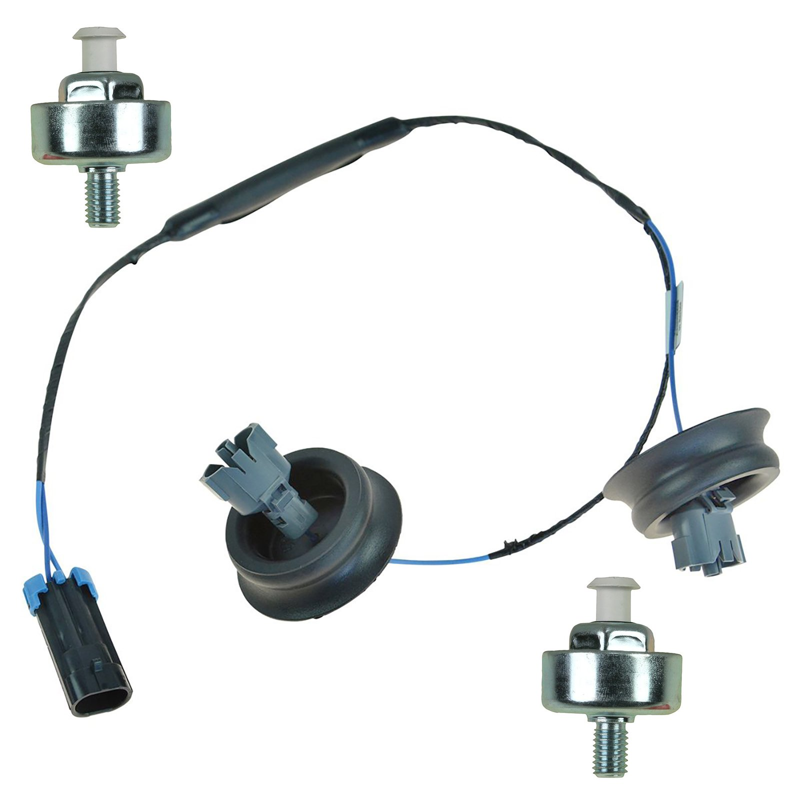 GM ACDelco Knock Sensor Harness Kit Set 3pc 12601822, 213-3521 by 1A Auto