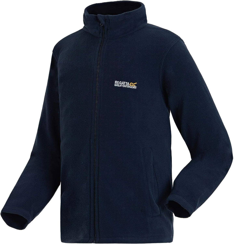Regatta Unisex Kids King Ii Lightweight Full Zip Fleece Fleece