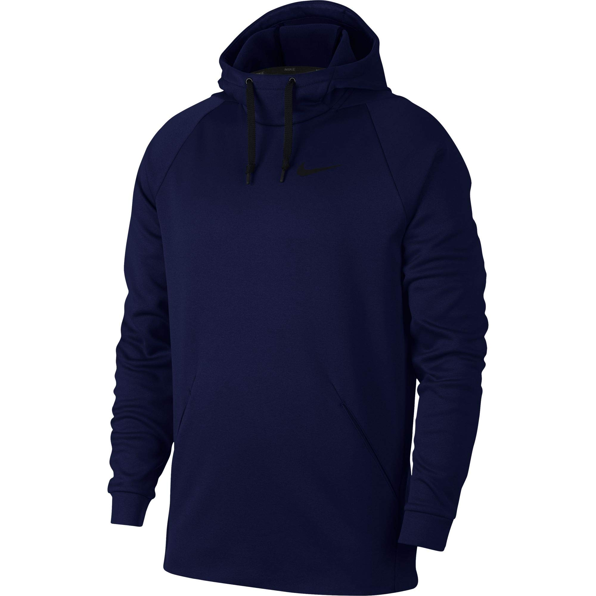 Nike Men's Therma Training Hoodie Blue Void/Black, Size Small