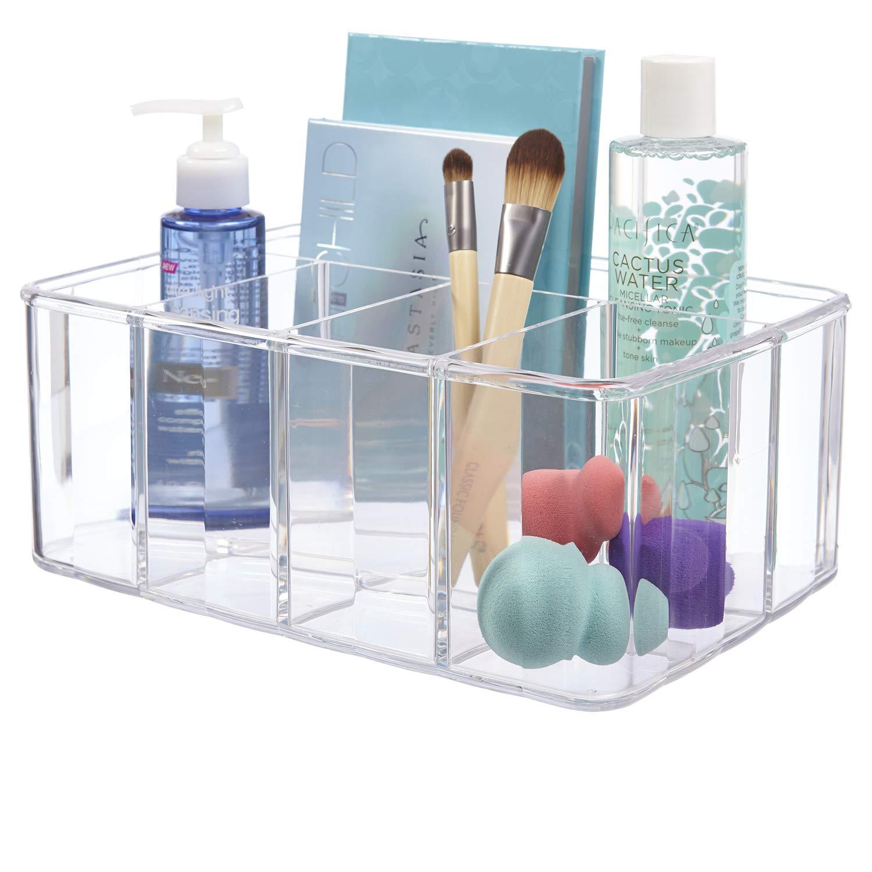 STORi Clear Plastic 5-Compartment Organizer, 10'' x 7'' by STORi