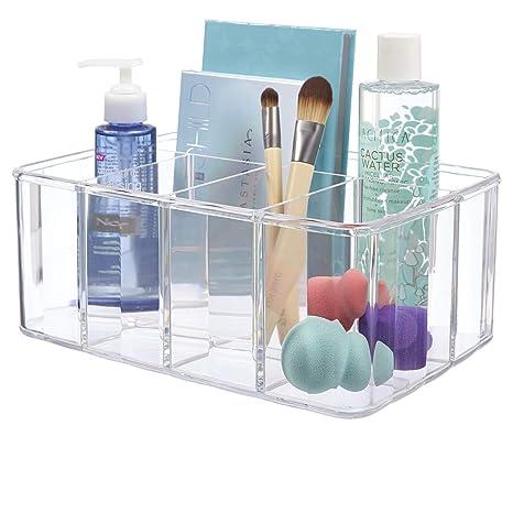 cf0ca13abac8 Clear Plastic Organizer | 5-Compartments