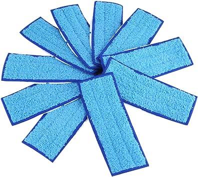 para Braava Jet 240 241 Bigpea Almohadillas para Trapear Lavables de 3 Paquetes Azul
