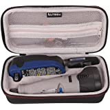LTGEM EVA Hard Case Carrying Storage Bag for Dremel 7700-1/15 MultiPro 7.2-Volt Cordless Rotary Tool Kit
