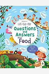 Lift-The-Flap Questions and Answers about Food Board book