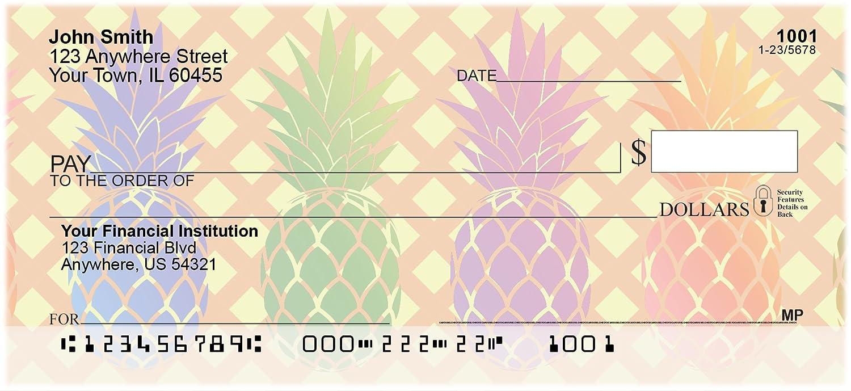Pineapples Personal Checks (2 Boxes Singles) Carousel Checks Inc.