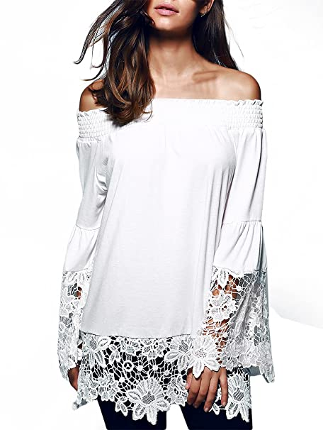 Raccogliere 2a682 d9da6 Camicia Donna Elegante Taglie Forti Maglie A Manica Lunga Grazioso ...