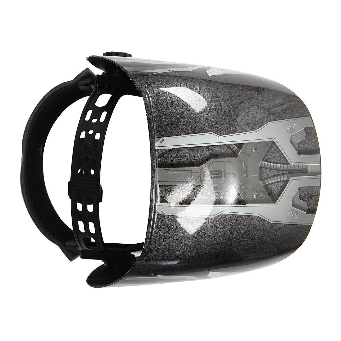 R SODIAL Solar Auto Darkening Welding Helmet TIG MIG Weld Welder Lens Grinding Mask Welding Helmet