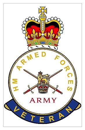 Hm Armed Forces British Army Veteran Sticker Amazon Car