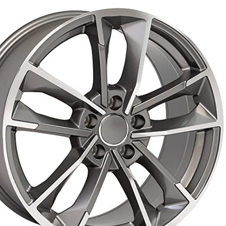 Amazon Com Oe Wheels 18 Inch Fits Volkswagen Cc Beetle Audi A3 A8