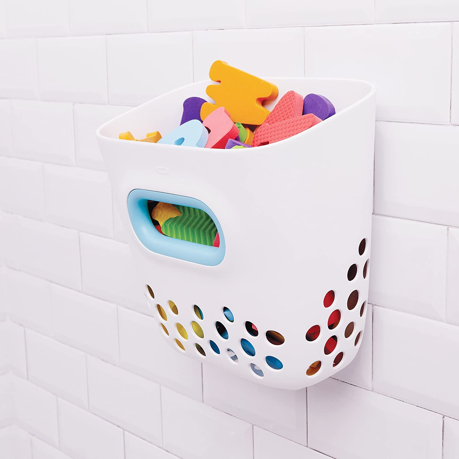 Amazon.com : OXO Tot Bath Toy Bin : Bathtub Toy Bags : Baby