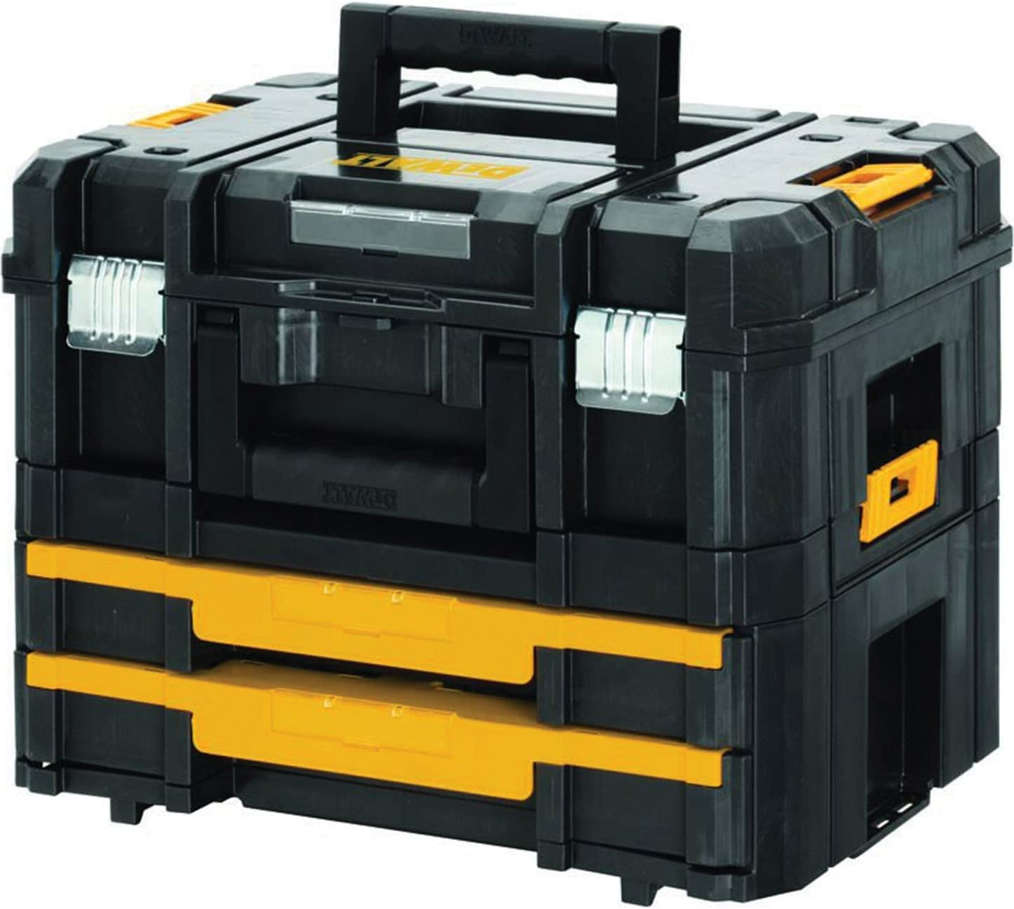 Advanced DeWalt TSTAK II + VI apilables y caja de herramientas 440 ...