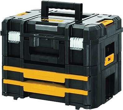 Advanced DeWalt TSTAK II + VI apilables y caja de herramientas 440 mm/43,18 cm [unidades 1] con Min 3 años Cleva garantía: Amazon.es: Bricolaje y herramientas
