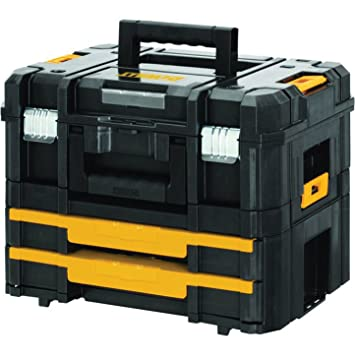 bas prix 6d1eb cf053 Conception précise DeWalt TSTAK VI Boîte à outils empilable ...