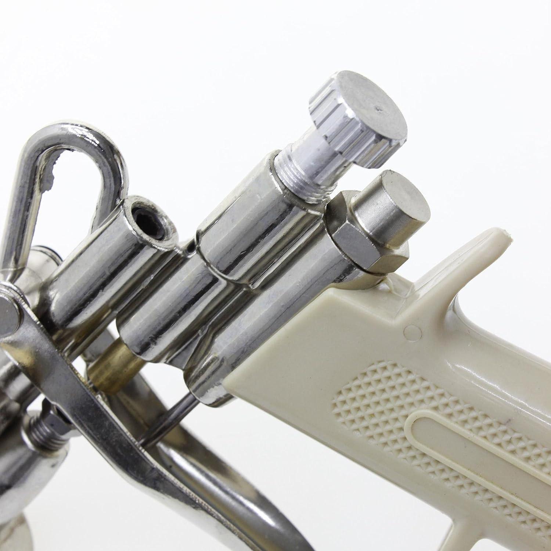 Merry Tools HK 2214544 Pistolet /à peinture haute pression avec alimentation par gravit/é Pistolet pulv/érisateur pour la r/éparation des voitures 400 cm/³ 1,4 mm