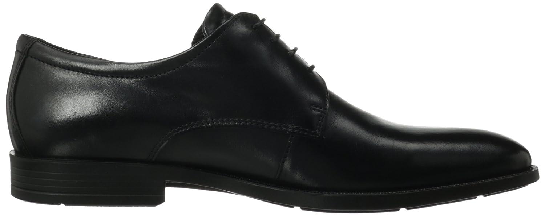 Amazon.com | ECCO Men's Edinburgh Plain Toe Tie Oxford, Black, 45  EU/11-11.5 M US | Oxfords
