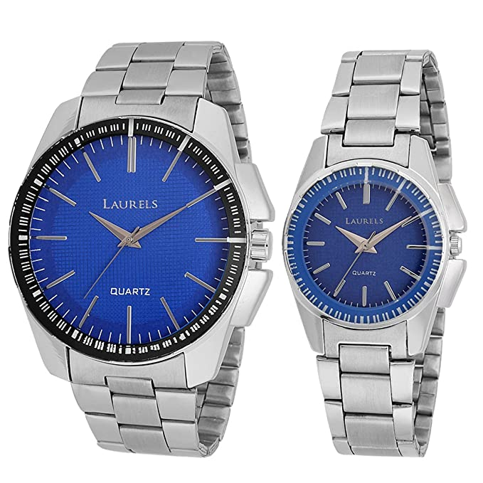 Analogue Blue Dial Men'S And Women'S Watch Lo-Agst-0307C