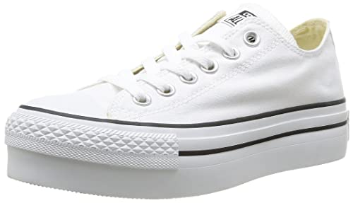 converse ox platform canvas