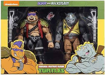 NECA Teenage Mutant Ninja Turtles Bebop and Rocksteady (Classic Cartoon) 7