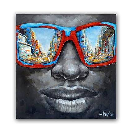 amazon com modern black men pop star canvas prints plus oil paints