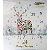 Scented Luxury Candle Advent Calendar - Reindeer Stag - fun adult countdown to Christmas